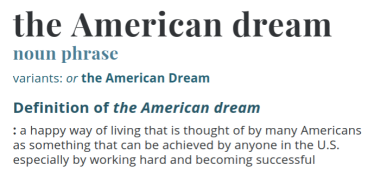 The American Dream